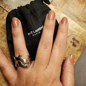 Authentic YSL ring